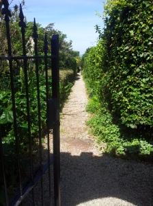 The garden path at Longcross