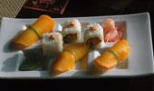 Chef Kinny's mango sushi