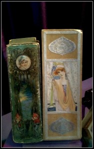 Cadbury packaging influenced by the Art Nouveau style