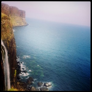 Far ahead (at the top end of the pic) is the Kilt Rock