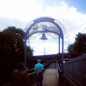 Bournville's twee railway station