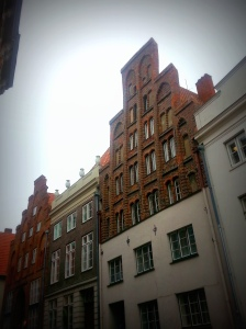 The sagging gables