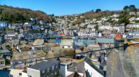 The view from our cottage of Looe