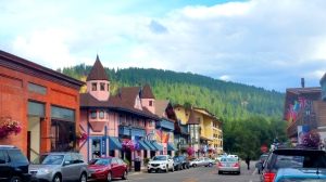 The Bavarian-style village in the Pacific Northwest