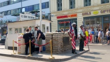 The actors of Checkpoint Charlie
