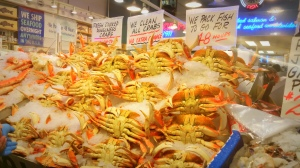 Dungeness Crabs in Pike Place