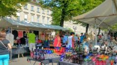 Straße des 17 Juni Flea Market in Tiergarten